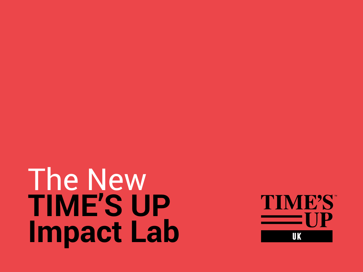 The New Time's Up Impact Lab